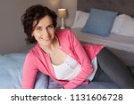 beautiful middle age woman...   Shutterstock . vector #1131606728