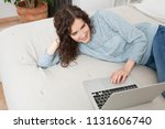 beautiful middle age woman...   Shutterstock . vector #1131606740