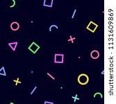 seamless geometric pattern.... | Shutterstock .eps vector #1131609869