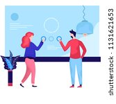 vector illustration of business ...   Shutterstock .eps vector #1131621653