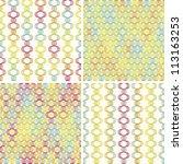 eps 10 vector file. set of four ... | Shutterstock .eps vector #113163253