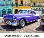 havana september 13 old...   Shutterstock . vector #113163388