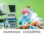 cosmetic liposuction surgery in ... | Shutterstock . vector #1131638933