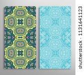vertical seamless patterns set  ...   Shutterstock .eps vector #1131641123