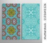vertical seamless patterns set  ...   Shutterstock .eps vector #1131641126