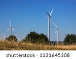 wind generators  windmills in... | Shutterstock . vector #1131645308