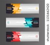 horizontal gradient color... | Shutterstock .eps vector #1131662420
