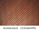 brown wooden dark old wall... | Shutterstock . vector #1131664496