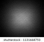 black abstract background with... | Shutterstock .eps vector #1131668753