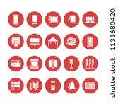 advertising exhibition banner... | Shutterstock .eps vector #1131680420