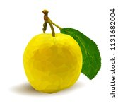 fresh  nutritious  tasty yellow ... | Shutterstock .eps vector #1131682004