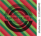 genuine quality christmas style ... | Shutterstock .eps vector #1131688940