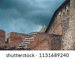 the wall of an ancient castle | Shutterstock . vector #1131689240
