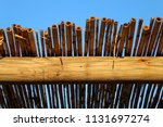 Cane Canopy Roof In Fish Shack...