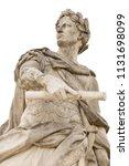 roman emperor julius caesar... | Shutterstock . vector #1131698099