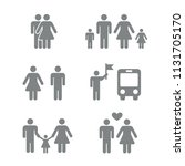 people man woman gender flat... | Shutterstock .eps vector #1131705170