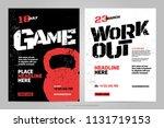 vector layout design template... | Shutterstock .eps vector #1131719153