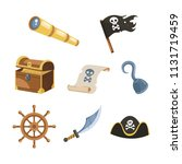 collection of pirate ship...