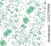 small flowers. seamless pattern ...   Shutterstock .eps vector #1131719504