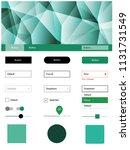 light green vector design ui...