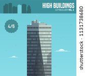 vector city builder. high... | Shutterstock .eps vector #1131738680