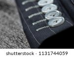 close up detail of sleeve ... | Shutterstock . vector #1131744059