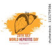 illustration of world hepatitis ...   Shutterstock .eps vector #1131759386