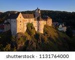 aerial view on loket castle ... | Shutterstock . vector #1131764000