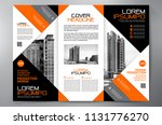 business brochure. flyer design.... | Shutterstock .eps vector #1131776270