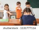 children bullying their...   Shutterstock . vector #1131777116