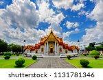 wat benchamabophit dusitvanaram ... | Shutterstock . vector #1131781346