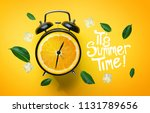 it's summer time typography.... | Shutterstock . vector #1131789656