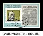 germany  ddr    circa 1982 ... | Shutterstock . vector #1131802583