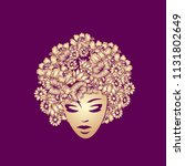 hair and beauty salon...   Shutterstock .eps vector #1131802649