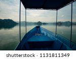 front view from boat on skadar... | Shutterstock . vector #1131811349