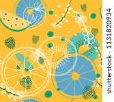 fresh seamless pattern with...   Shutterstock . vector #1131820934