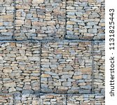 seamless texture of a stone... | Shutterstock . vector #1131825443
