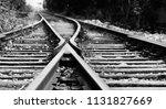 Two Railway Tracks Merge...