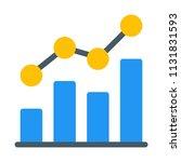 combo bar chart   Shutterstock .eps vector #1131831593