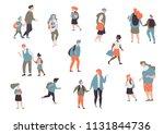 set character different student ... | Shutterstock .eps vector #1131844736