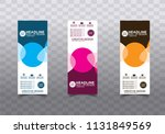 banner background.modern vector ... | Shutterstock .eps vector #1131849569