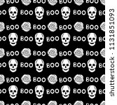 seamless pattern with white...   Shutterstock .eps vector #1131851093