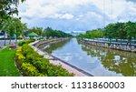 relax in the evening near bang... | Shutterstock . vector #1131860003