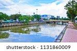 relax in the evening near bang... | Shutterstock . vector #1131860009