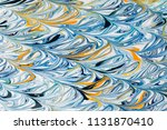 colorful abstract painted... | Shutterstock . vector #1131870410