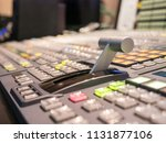 digital broadcasting switcher... | Shutterstock . vector #1131877106