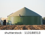tank for biomass  to produce... | Shutterstock . vector #113188513
