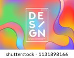 summer colorful background... | Shutterstock .eps vector #1131898166