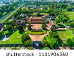 aerial view of hung temple and... | Shutterstock . vector #1131906560