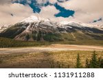 beautiful canadian mountains... | Shutterstock . vector #1131911288